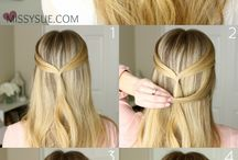 Hairstyles tutorials