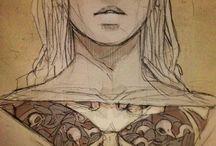 KSIĄŻKI - rysunki, ilustracje