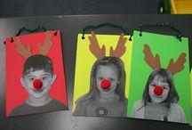 Kinder christmas craft