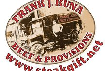 Juicy Steaks / Welcome to Frank J. Kuna Beef & Provisions, where we sell delicious and nutritious restaurant quality steaks. Buy your steaks online and we will deliver them to your home for the ultimate convenience; or purchase them as a gift and have them delivered directly to the lucky recipient, along with a gift card from you.
