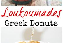 Greek desserts & cakes