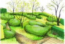 zahrady a zahradní architektura / # zahrady-zahradni-architektura-navrh #gardens-landscape-architecture-design