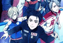 Yuri !!!on Ice / The fabulous anime about an obvious ship ice skating under the same ambitions !