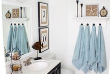 HOME: Bathrooms / Ideas for bathrooms. Making them nice and/or functional. / by Stephanie Pyne