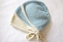 mavi krem şapka