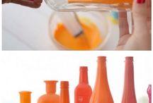 buteleczki farba od srodka
