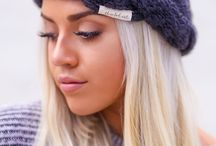 Headbands and Hair Accessories / Cozy chunky knit beanies, hand knit oversized pom pom beanies, trendy hats and more.