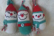Addobbi natalizi uncinetto / Creazioni all'uncinetto