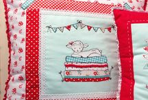 Cute cushions and pillows / Any that catch my eye! / by Aideen O'L