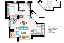 Famous TV Show Apartments / by Places4Students.com