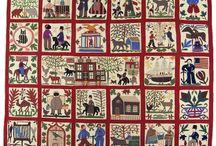 Antieke quilts