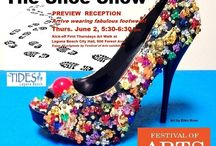 2016 ART-TO-GO SHOE SHOW / This year's theme is SHOES! Come see our amazingly creative works of art by our current Festival Artists!