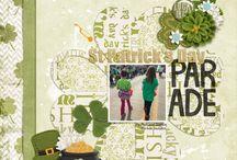 Scrapbook Spring-St Patrick