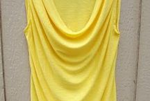 blus draperi tanpa lengan