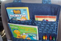 car seat organizer pattern
