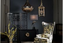 DARK BEAUTY ~ GOTHIC GLAMOUR / Explore the beautiful dark side of design with this rich sophisticated style. Elements of light and shadow set the mood with a touch of Gothic glamour.