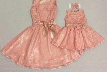 Vestidos mãe e filha ❤