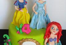 Bolos Princesas Disney