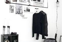 Swart Walkin closet
