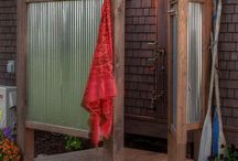 Outdoor shower / by Cheryl Foley