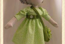 rag dolls / Inspiration for rag dolls
