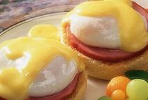 yummy breakfast foods / by Tina Wells
