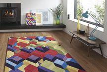 Designer Rugs / Authentic rug designs featuring collaboration between manufacturer and artist / designer