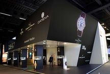 Baselworld - The Watch and Jewellery Show / Baselworld - The Watch and Jewellery Show, le salon mondial présentant l'avant-garde des tendances du monde de l'horlogerie et de la bijouterie a fermé ses portes le 3 avril !  Retrouvez en photo la réalisation d' EXHIBIT GROUP pour l'horlogerie Ambre !  Euroexpo était le concepteur de ce projet !