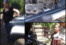 Babska podjazdówka 4x4 / Przygoda z off-road