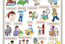 Daily routines / English ESL Daily routines