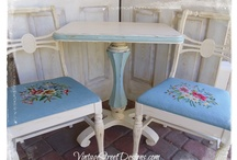 DIY - Annie Sloan Chalk Paint Makeovers