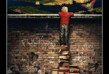 Livres♡ / Passionnant, fantastique, émouvant, et tant d'autres mots qui décrire si bien les livres...