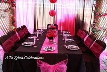 Birthday Party Ideas / Girls Sweet 16 and 13th birthday parties / by Shannon Adams Vasquez
