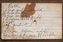 Somebody's Grandma's Recipes / by Cheerful Long
