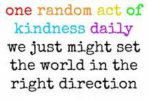 Random Acts of Kindness / Kleine Dinge für andere tun und dabei Freude haben!