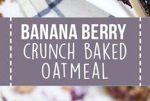 Easy recipes / healthy bars
