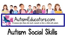 Autism Social Skills / Classroom effective learning materials for students with autism. AutismEducators.com donates to autism awareness and gives back to Special Needs classrooms around the world.