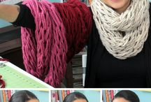Teaching myself to knit / by Marianne Franco