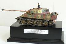 Panzer Tiger II - Model