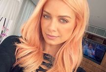 Peach Hair Inspo