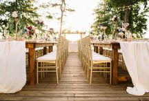 Styled Shoot / whimsical, woodsy, vintage, and family style inspired reception styled shoot