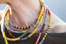 textile jewelry,
