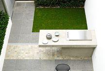 jardínes, patios y terrazas