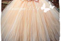 tu tu flowergirl dresses & accessories / All things pretty...