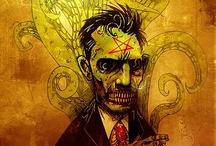 Horror Game/Graphic Novel Inspo