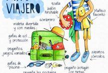 viajar amb nens