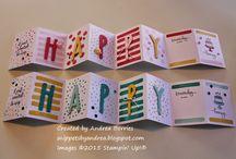 Cards -Unique folds