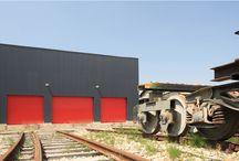 Hall de montage de Locomotives, CFDB