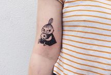 Moomin Tattoo