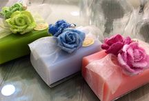 Sheepmilk Soaps Collection / Natural sheepmilk soaps / classic & decorated /